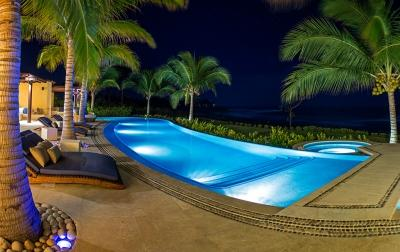 Exceptional 5 Bedroom Oceanfront Villa in Punta Mita - Image 1 - Punta de Mita - rentals