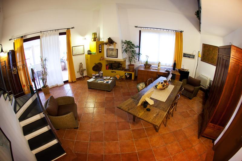 Sala comune - Lu Palau de Antoni - Guesthouse - Alghero - rentals