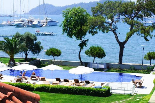 Seafront Luxury Attic Duplex in Gocek Town center - Image 1 - Gocek - rentals