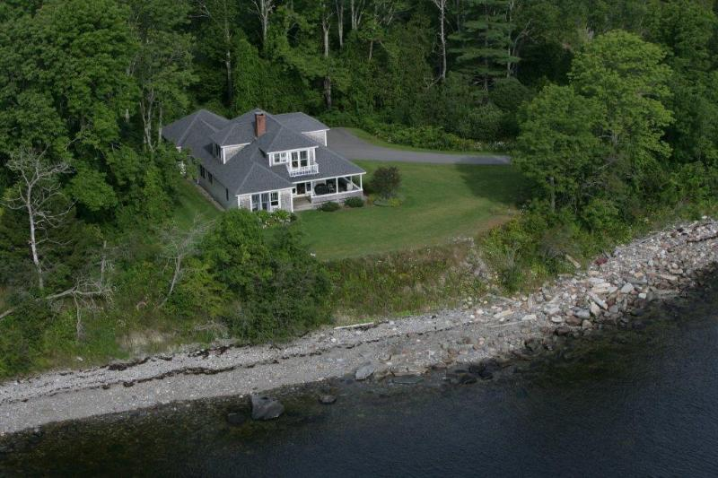 From the Air! - Breezeway Cottage - Lincolnville - rentals