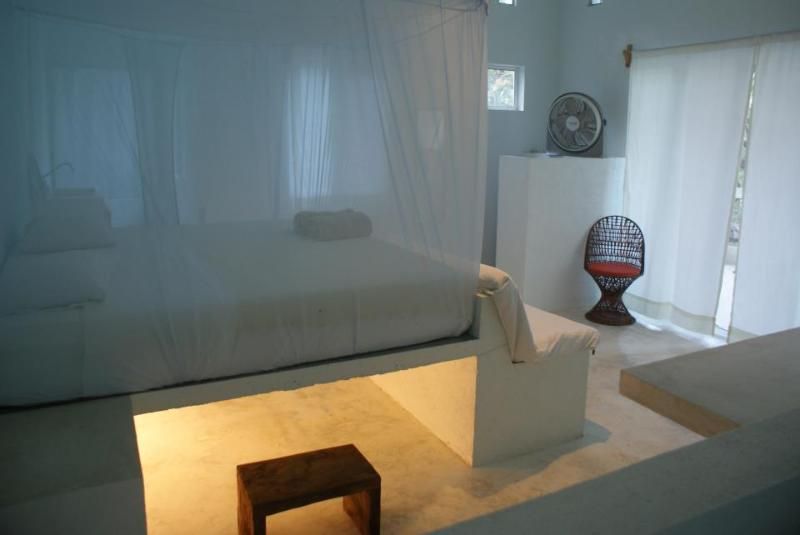 View from the inside - Ocean front bedroom - Huatulco - rentals