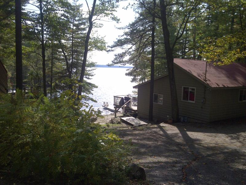 Lake in the background - Lake Muskoka Getaway - Bracebridge - rentals