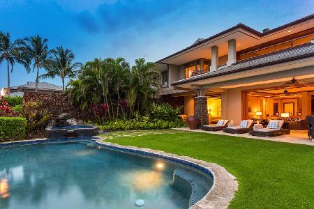 Kauna oa 7A in community with seamless indoor-outdoor living & private pool/spa - Image 1 - Mauna Lani - rentals