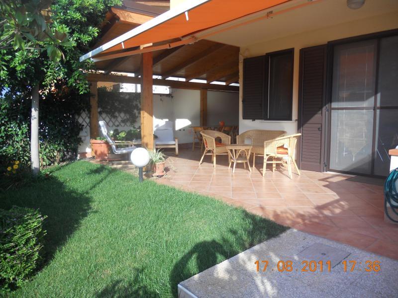 Veranda esterna - Affitto villetta per 6 persone, con tutti i confort - Policoro - rentals