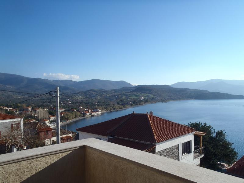 A part of the view - Comfort and luxurious interior with stunning vista - Molyvos - rentals