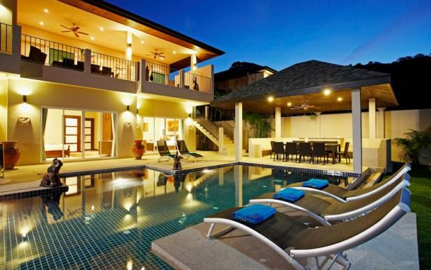 Gorgeous 7 Bedroom Pool Villa for Rent Phuket - nai18 - Image 1 - Rawai - rentals