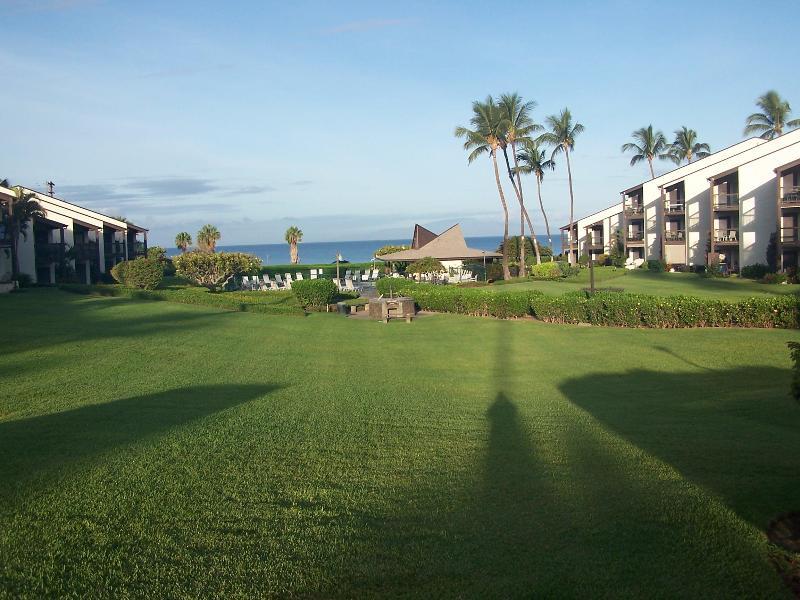 Complex - Kihei Maui Kondo partial ocean view steps to beach - Kihei - rentals