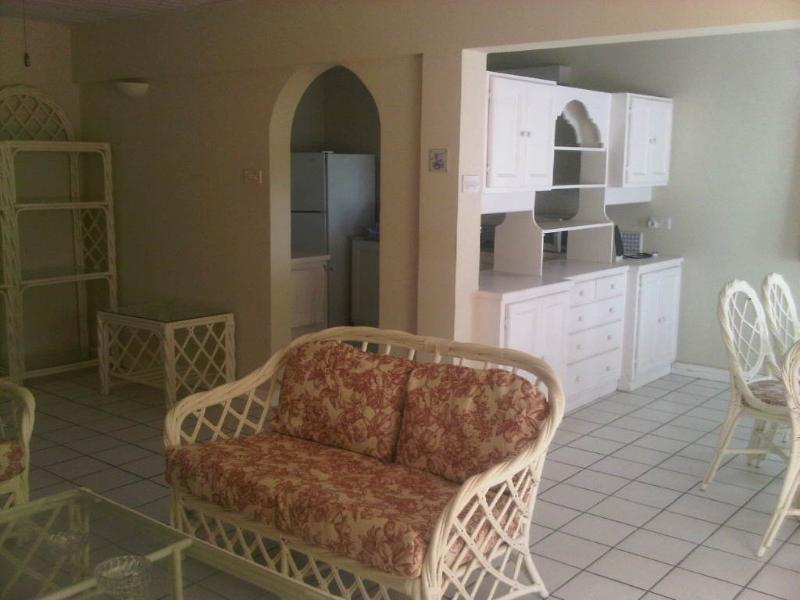 Kitchen/Living Area - Two Bdrm Condo Near Beautiful Beach in Rodney Bay - Gros Islet - rentals