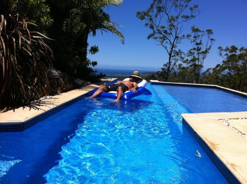 Private Pool with Ocean Views - Crezzo Point View 100  Acres Private Pool Views - Crescent Head - rentals