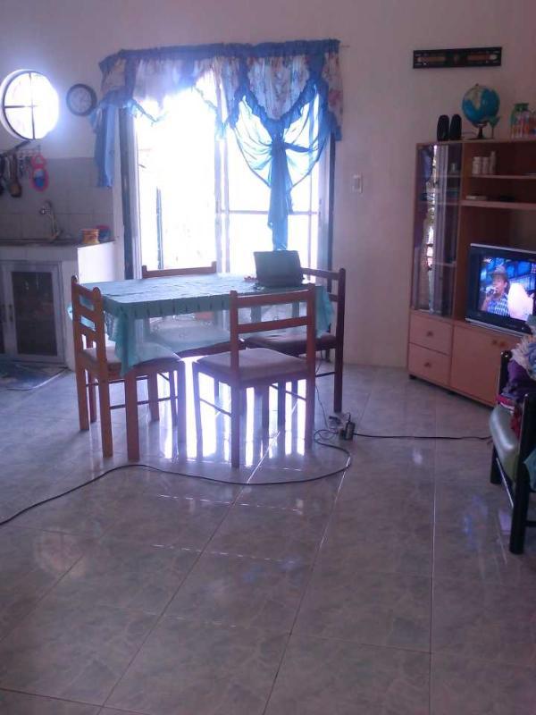 "Living Room & Sliding Doors to Terrace - Aldanmar Apartments ""Blue"" on the beach - Puerto Galera - rentals"
