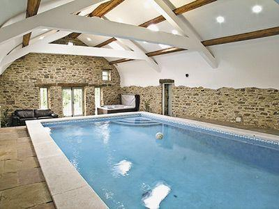 5m by 10m heated indoor pool - Cottage with pool    Durham cottage - Durham - rentals