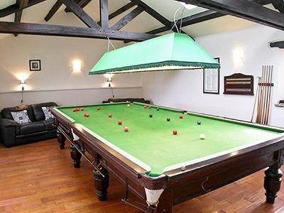 snooker room - Cottage with pool Raby Cottage - Durham - rentals