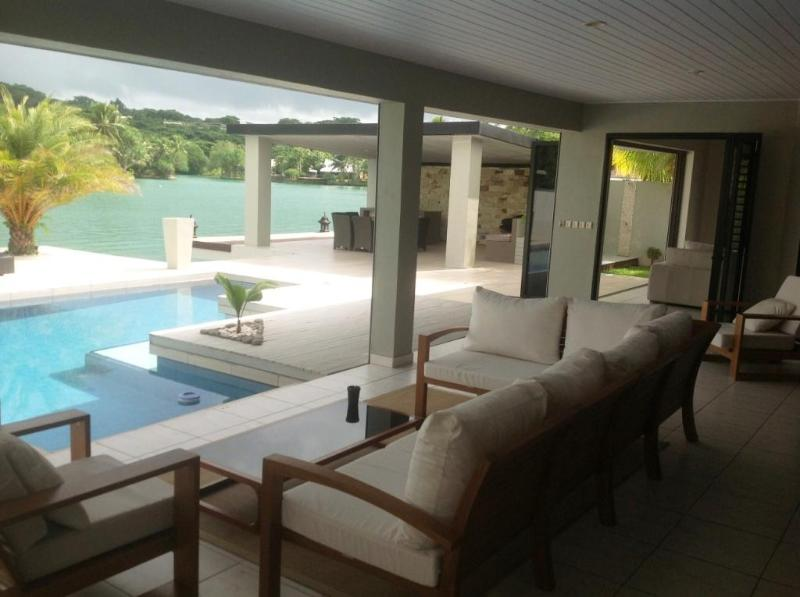 VIew to Pool - Luxury Living on the Lagoon - Port Vila - rentals