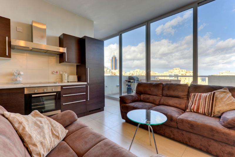 042 St Julians Seafront 2-bedroom Penthouse - Image 1 - Saint Julian's - rentals