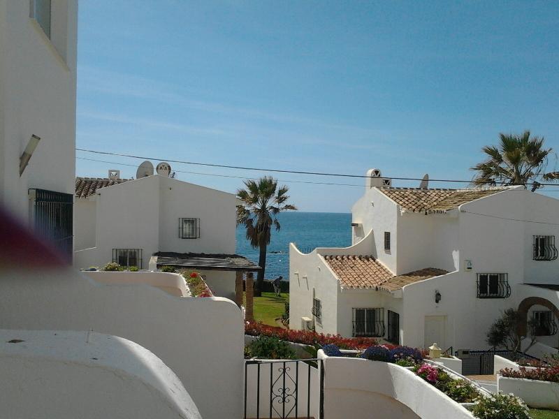 View from terrace - Lovely 2 Bedroom Townhouse Beach Side Rocas Del Ma - La Cala de Mijas - rentals