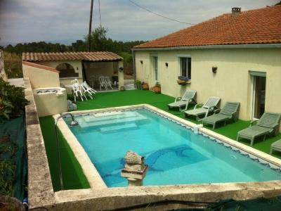 pool and spa - Bright 3BR Mas w Pool 800m to Lake & 5 Km to City! - Carcassonne - rentals