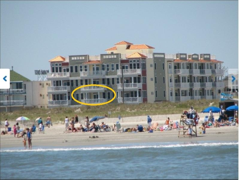 Ocean Front Condo - OCEAN FRONT:  Panoramic Beach Views with Heated Po - Wildwood Crest - rentals