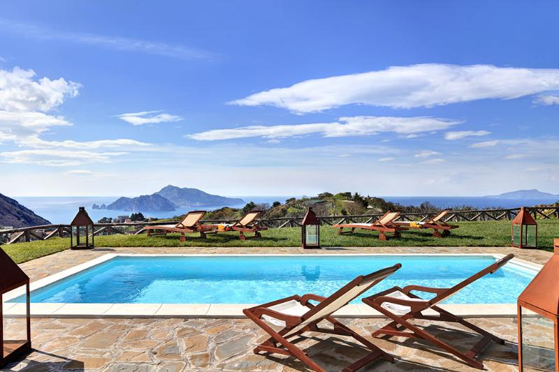 The pool - Casa del Capitano, breathtaking and peaceful villa - Massa Lubrense - rentals