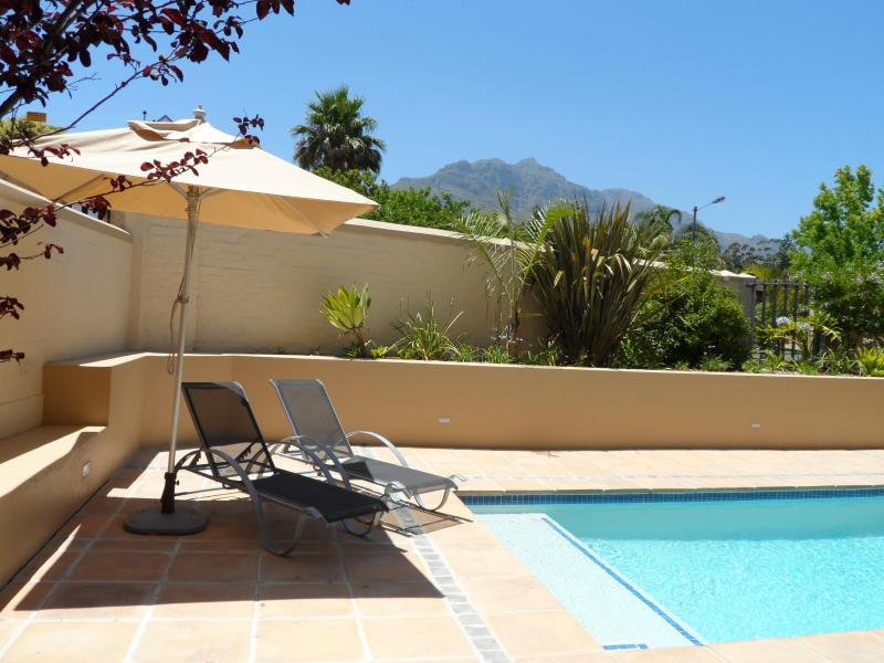 Lovely pool with mountain views - Luxury three bedroom house with pool in safe upmar - Stellenbosch - rentals