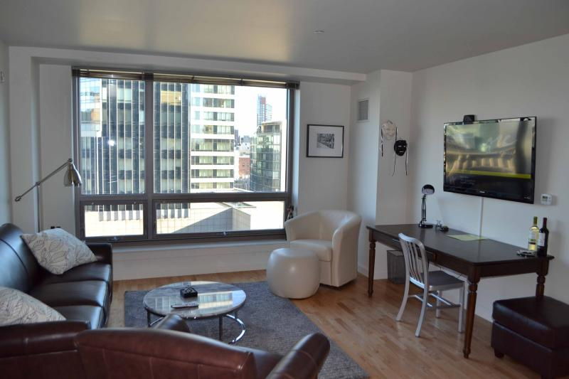 Theater District Luxury 1-Bed: 14th Floor Views - Image 1 - Boston - rentals