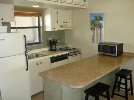Kitchen ARea - Best water views form the balcony of this top floor corner unit - Marco Island - rentals