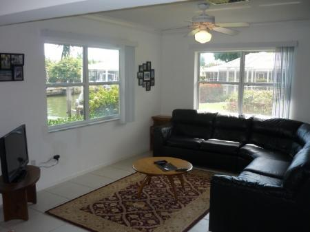 Family Area - Inviting open concept living in this large Vacation Pool Home - Marco Island - rentals