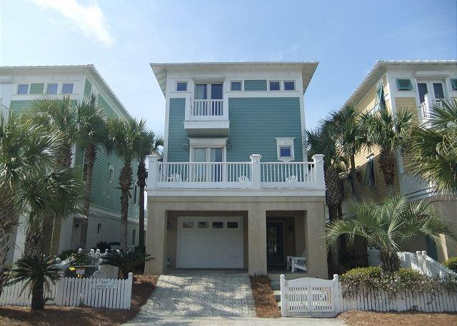 Hangin' Out - Beachfront Home w/ Private Elevator - Great for Families - Image 1 - Carillon Beach - rentals