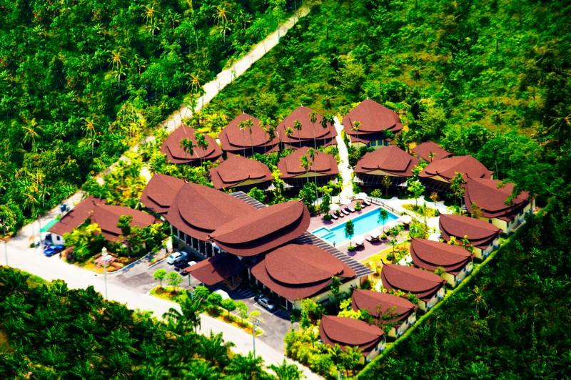 Bird Eye View - Aonang Phu Petra Resort, Krabi Thailand is 4 Star - Krabi - rentals