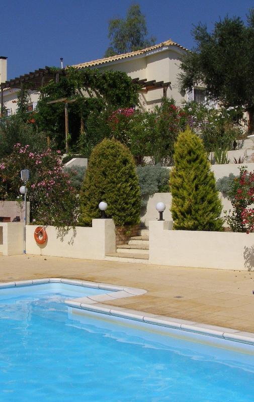 Villa Dafni from pool - Naturist Villa Dafni, Fig Leaf Villas - Petalidi - rentals