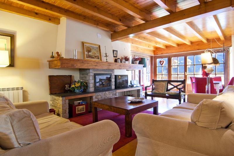 Livingroom1 - Gessa 6 km Baqueira 4 bedrooms - Gessa - rentals