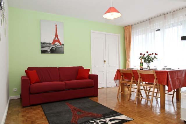 Living Room - APARTMENT LE MONTMARTRE PARIS 10mn from Montmartre - Paris - rentals