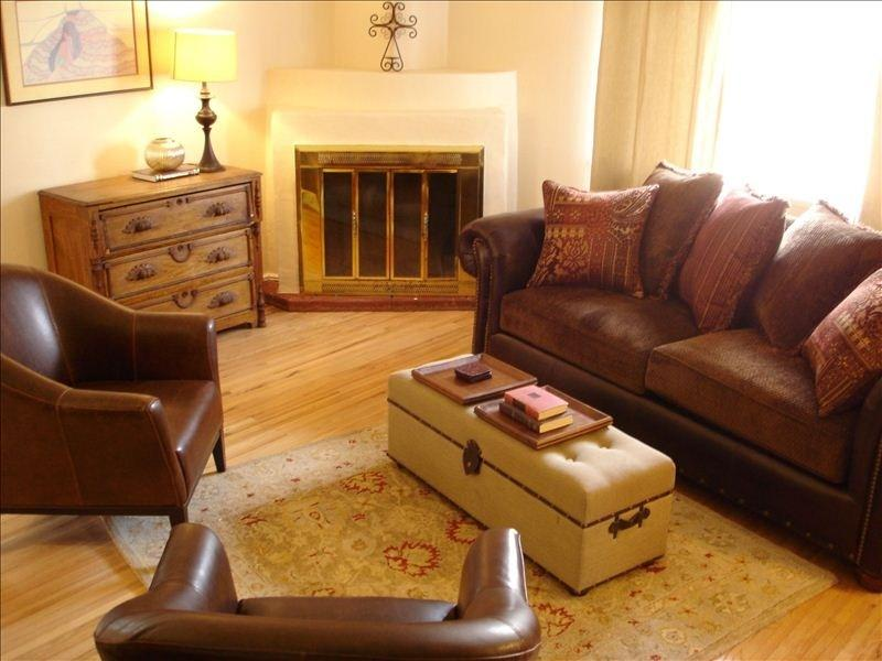Living Room - Enchanting and Stylish Southwestern 4BR Home - Santa Fe - rentals
