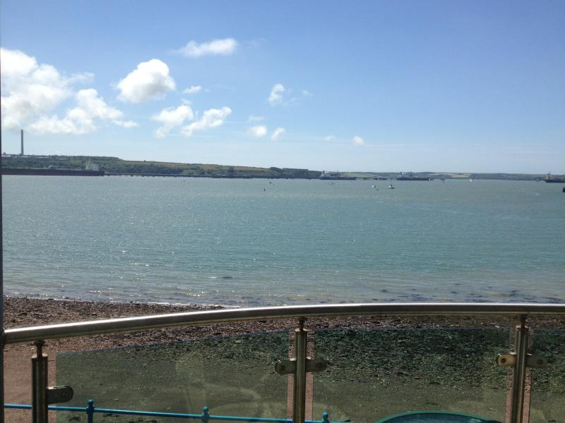 From the Balcony - Sea Front Marina Apartment on Pembrokeshire Coast - Milford Haven - rentals