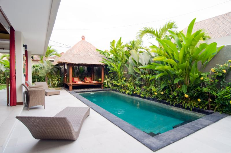 Pool Overview - 2 Bedroom Villa, central Seminyak - Seminyak - rentals