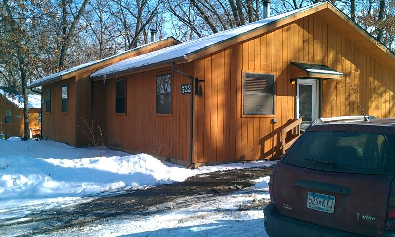 Cottage exterior - 2 bedroom 1 bath cottage at Christmas Mountain - Wisconsin Dells - rentals