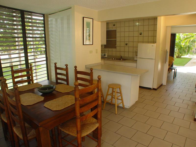 Dining and kitchen view from entrance - Villa Taina de Boqueron comfortable and affordable - Cabo Rojo - rentals