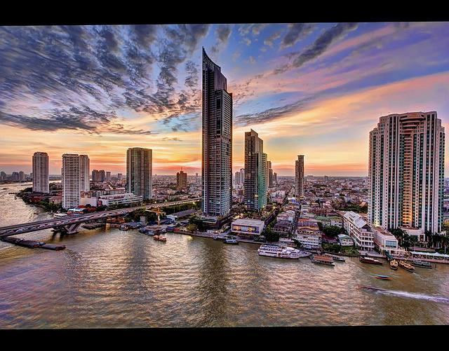 Amazing 2BR River view Condo o a high Floor - Image 1 - Bangkok - rentals