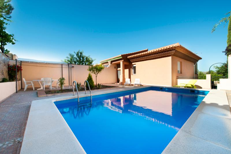 Pool - Chalet with private pool - Up to 8 guests - Padul - rentals
