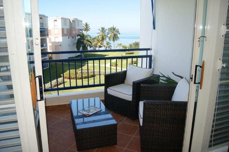 Right hand side of balcony w/spectacular views - Haciendas del Club IV405 breathtaking views from y - Cabo Rojo - rentals