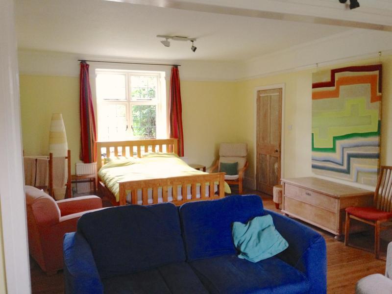 Our lovely huge double room - Country house:huge garden room, log burner wifi - Buckfastleigh - rentals