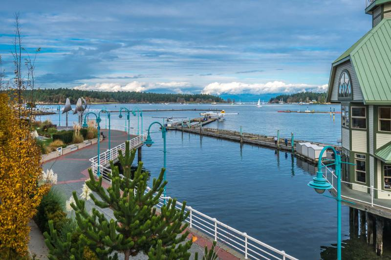 View from bedroom - Nanaimo Harbourfront Townhome - Nanaimo - rentals