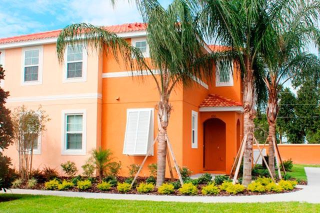 Beautiful entrance - Luxury VIP 4 bedroom Duplex at Bella Vida Resort - Fuentes 4rg01 - Kissimmee - rentals