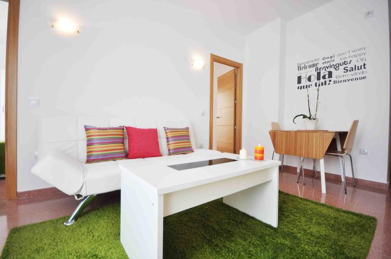 LIVING ROOM - ESTHER'S APARTMENT 1º - Malaga - rentals