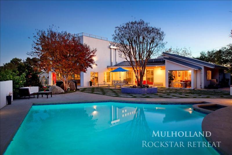 Mulholland Rockstar Retreat - Image 1 - Los Angeles - rentals
