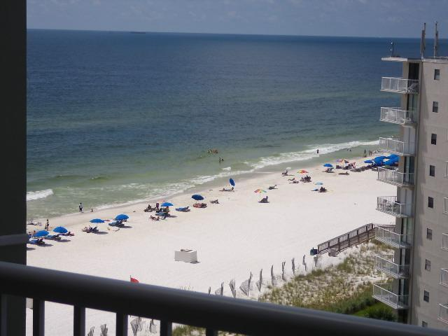 Balcony - Tradewinds 2 Bedroom 2 Bath With Ocean Views From Each Room ! - Orange Beach - rentals