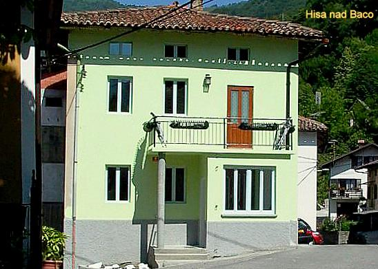 Front of House - 'Hisa nad Baco' Holiday Home - Tolmin - rentals