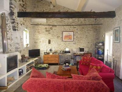 Living Room - Stone House/ Apartment/ Gite Bize Minervois - Bize-Minervois - rentals