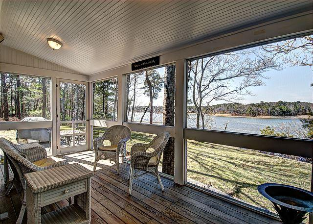 Waterfront Vacation Home in Lovely Cotuit, outstanding quality-2 week minimum - Image 1 - Cotuit - rentals