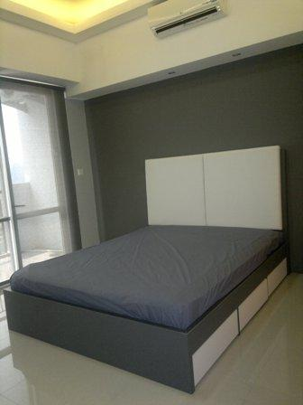 Queen size bed,Clean new bedsheet & blanket for every new tenant - Modern clean studio Apartment @Jakarta CBD - Jakarta - rentals