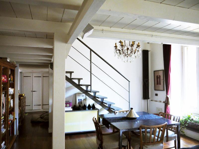 Living room - dining area Apartment Rome- Testaccio - Design apartment in Testaccio - Aventino / Appartamento di design Testaccio- Aventino - Rome - rentals